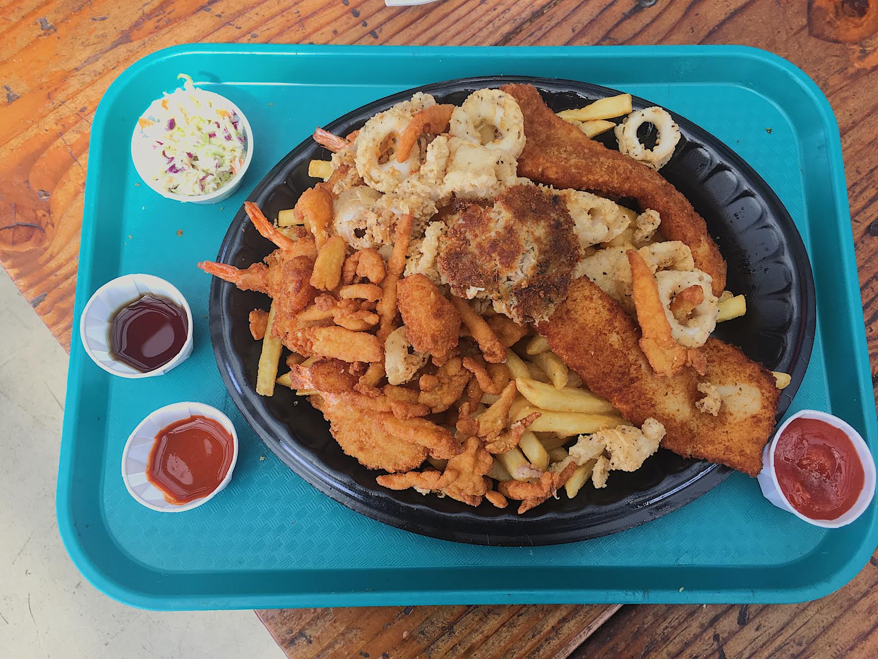 Get Deep-Fried Seafood At Neptune's Net