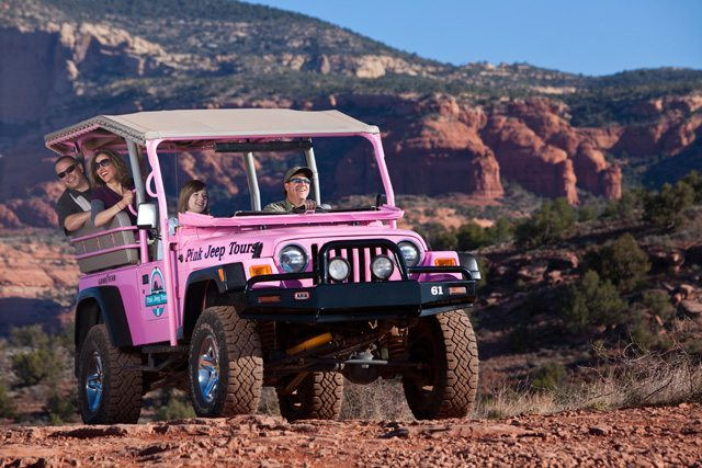 Grand Canyon Tours From Sedona With Pink