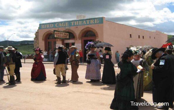 Bird Cage Theatre Tombstone