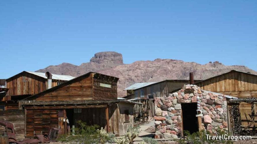 Castle Dome Mine Museum Ghost Town Yuma