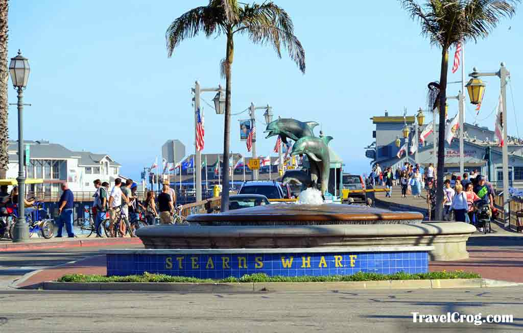 Stearns Wharf Near Santa Barbara Ca